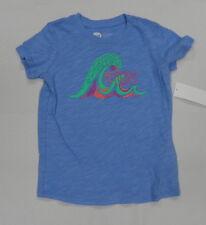 Roxy Kids Sz 5 Shirts Tops Pattern waves Purple