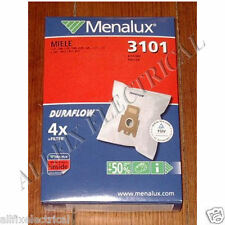 Miele Duraflow Synthetic High Filtration Vacuum Cleaner Bags - Part No. 3101