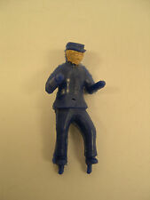 Reproduction Man for American Flyer Sawmill & Log Loader - Dark Blue