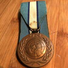 Vintage United Nations Cyprus Medal