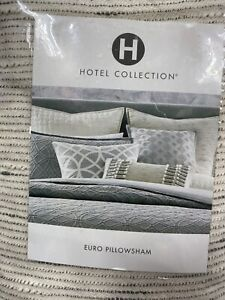 Hotel Collection Euro Pillow Sham - Connection - Beige
