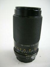 Exakta 70-210 f4.5-5.6 MC Auto Macro Nikon Mt. lens