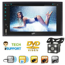 "For Sony LCD 6.2"" Double 2Din CD / MP3 / DVD Player Bluetooth Car Stereo+Camera"