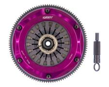 EXEDY HYPER TWIN CERAMETALLIC CLUTCH SPRUNG DISCS FOR MITSU EVO 8 9 MM022HD