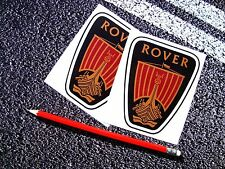 Rover Badge Emblem Sticker SD1 75 P6 MG British Car Legend V8 BMC Classic 45