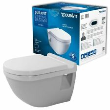Duravit Starck 3 Set Wandtiefspül-WC 42000900A1 inkl. WC-Sitz SoftClose