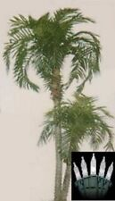 8' Artificial Phoenix x 2 Palm Tree Plant Bush Date Sago Patio Christmas Lights