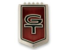 """1966 Ford MUSTANG -- """"GT"""" Fender Emblem w/ Clips - PIN ON - Just One"""