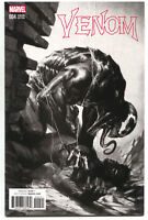 Venom 4 Marvel Now 2017 NM Gabriele Dell'Otto B&W Variant Spider-Man