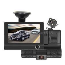 "KKMOON 4"" 1080P Three Lens Car DVR Dash Cam/Motion Detection/Loop Recording Q7B1"