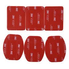 6 pcs 3M Sticker Tape Adhesive Pads Set for Gopro Hero 3/ 2/ 1 ST-14 New M9I1