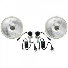 Stella Lux LED H4 Conversion Kit MGA MGB MG Midget W Genuine Lucas Lenses