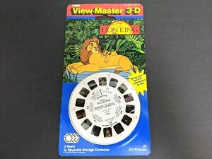 Vintage New Sealed 1994 Tyco View Master 3D Reels Disney's The Lion King 3095