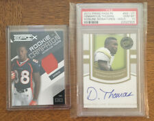 2010 Press Pass Sideline Signatures Gold PSA 10 Demaryius Thomas RC Epix Patch