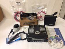 Motorola XTL 2500 P25 Mobile Radio Model M21URM9PW1AN 800 MHz Complete