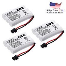 3x 1000mAh 3.6V Cordless Phone Battery for Uniden BT-446 ER-P512 BP-446 BT-1005