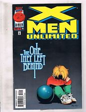 Lot Of 9 X-Men Unlimited Marvel Comic Books # 14 15 16 17 18 20 21 22 29 RC6