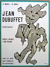 DUBUFFET Jean  (1954)  *  CERCLE VOLNEY * Lithographie Originale