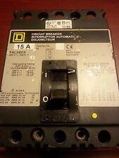 Square D FAL34015 15 AMP 480VAC