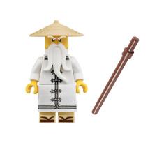 LEGO Ninjago-Sensei Wu (divisione) dal 70618: Destiny's Bounty