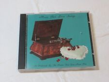 Music Box Love Songs CD 1992 Porter Music Box Co. From a Distance All This Time