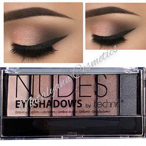 TECHNIC - NUDE- 6 Shade Eyeshadow Palette -BEIGE, BROWN, NUDE SEALED +FREE POST