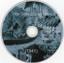 How Green Was My Valley (1941) dvd comes in plastic sleeve and dvd printed on