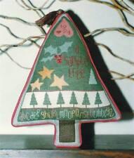 Ewe & Eye & Friends SAMPLER TREE Cross Stitch/SS Chart ~ Christmas sampler