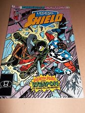 LEGEND OF THE SHIELD ( 4 ) OCT 1991  IMPACT COMICS VERY FINE BUY 3 GET 1 FREE