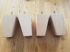 Wooden Screw In Legs furniture feet short beech