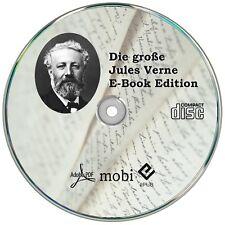 Jules Verne E-Book Sammlung, Romane, Bücher, 85 ebooks für Reader & PC    ? CD