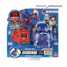 TURNING MECARD W HITERO BLUE Transformer Transforming CAR Robot Kids Toy Korean