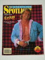 ROWDY RODDY PIPER WWF WRESTLING SPOTLIGHT MAGAZINE VOLUME NO 12 WWE