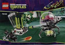 Lego Ninja Turtles # 79100 Kraang Lab Escape - Bauanleitung (keine Steine!)