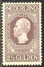 NETHERLANDS #99 Mint - 1913 2 1/2g Dull Violet ($120)