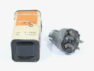 OE Delco 1965 Buick Ignition Switch ~ 1116664 ~ D1466
