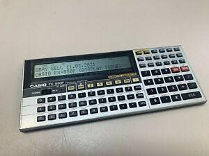 Vintage Calculator Casio FX 850p Personal Computer - for parts