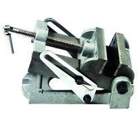 "3-1/2"" Angle Drill Press Vise, Adjustable, Durable cast Iron, Hit 14-AV312H"