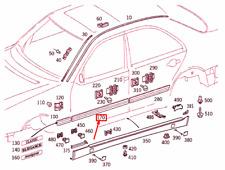 MERCEDES-BENZ E W210 Front Left Door Center Strip A21069003829999 NEW GENUINE