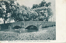 Rohrerstown PA * Stone Bridge over Conestoga ca 1910 * Lancaster Co.
