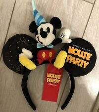 H18 Serre-tête / Headband MICKEY PELUCHE / Plush CELEBRATION Disneyland Paris