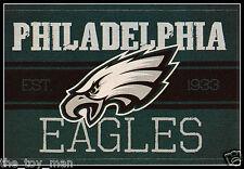 PHILADELPHIA EAGLES FOOTBALL NFL LICENSED VINTAGE TEAM LOGO INDOOR DECAL STICKER