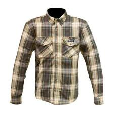 MERLIN AXE PROTECTIVE SHIRT BROWN - Sizes S - XL