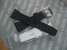 SEIKO VELATURA B26 BLACK RUBBER / SILICONE 26mm WATCH STRAP 4LJ7JB 26mm