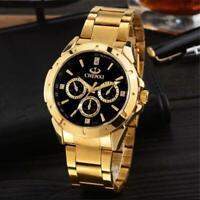 Montre Luxe TOP MARQUE Homme Date Bracelet Métal Fashion Men watch PROMO