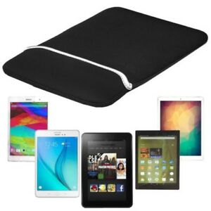 "Forefront Cases 9"" 10"" Splashproof Neoprene Reversible Tablet Sleeve Case Cover"