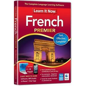 Learn It Now French Premier Language Learning Software For PC/Mac Speak french