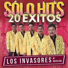 Invasores De Nuevo Leon - Solo Hits 20 Exitos [New CD]