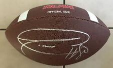 Donald Driver Signed NCAA Replica Football With Exact Proof