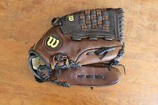 "Wilson A1555 SC4 13"" Softball Glove Outback Leather Oversized Pocket Flexback"
